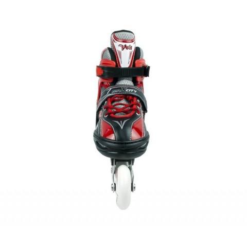Роликовые коньки детские (раздвижные) MAXCITY VOLT combo red