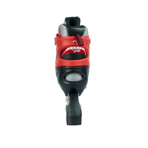 Набор роликовых коньков с защитой MAXCITY VOLT combo red