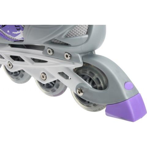 Роликовые коньки детские (раздвижные) MAXCITY Spark violet