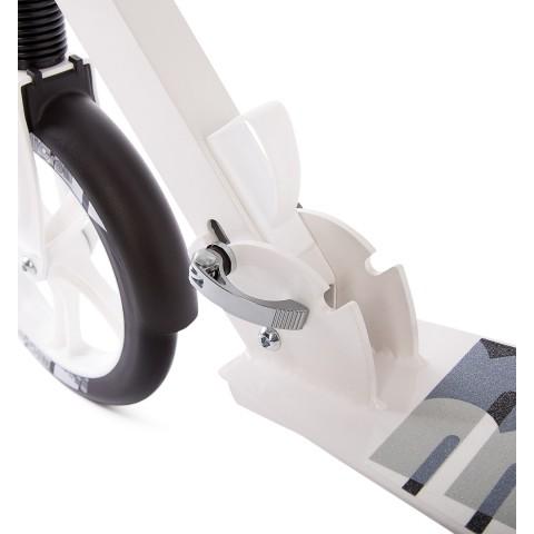 Самокат Hello Wood HW Micron XL-1 белый с большими колесами