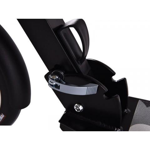 Самокат Hello Wood HW Micron XL-1 черный с большими колесами