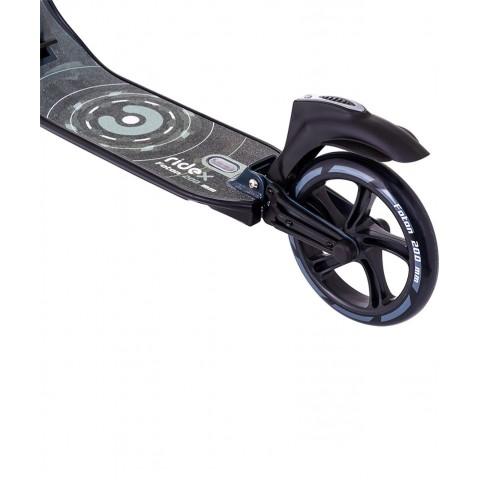 Самокат RIDEX Foton 200 мм черный с двумя амортизаторами