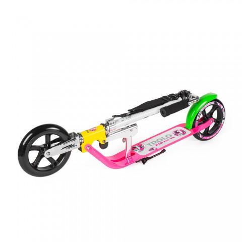 Самокат с большими колесами  Trolo Rio 205 SX розовый
