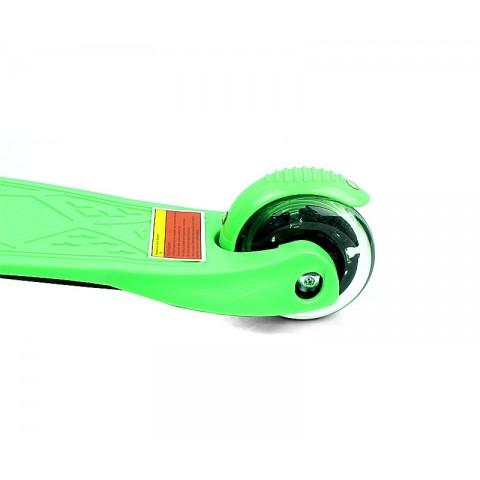 Самокат детский Maxcity Snoopy green
