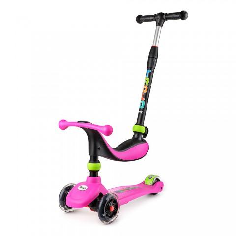 Самокат детский Trolo Rino 3 IN 1 со светящими колесами