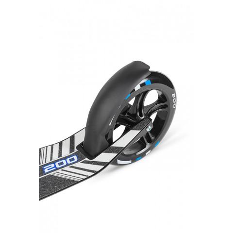 Самокат с большими колесами Weelz Twist черный