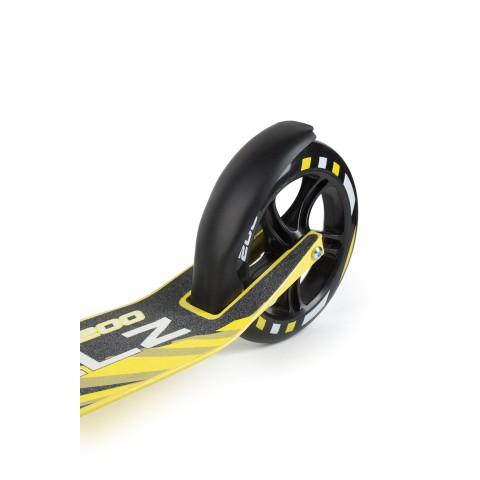 Самокат с большими колесами Weelz Twist желтый