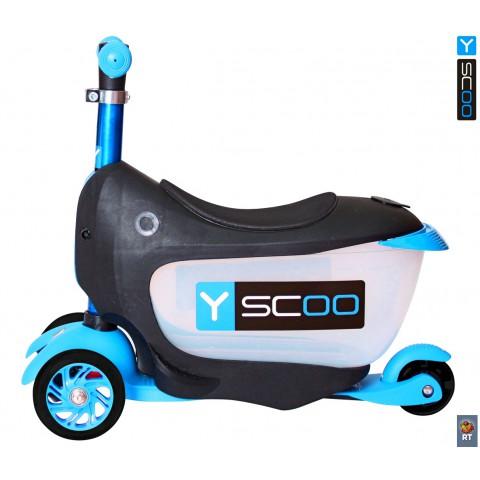 Самокат-каталка 3 в 1 Y-SCOO Mini Jump&Go