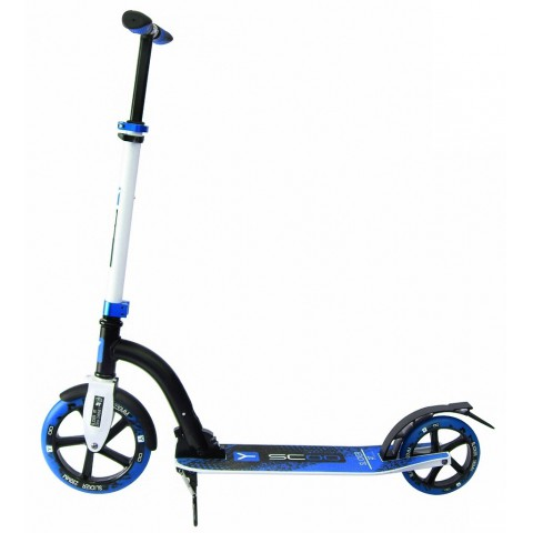 Самокат с большими колесами Y-SCOO RT 230 SLICKER NEW Technology blue