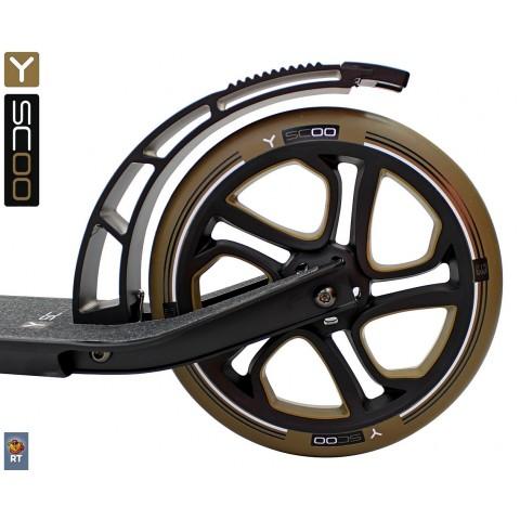 Самокат с большими колесами Y-Scoo RT 250 One&One bronzat