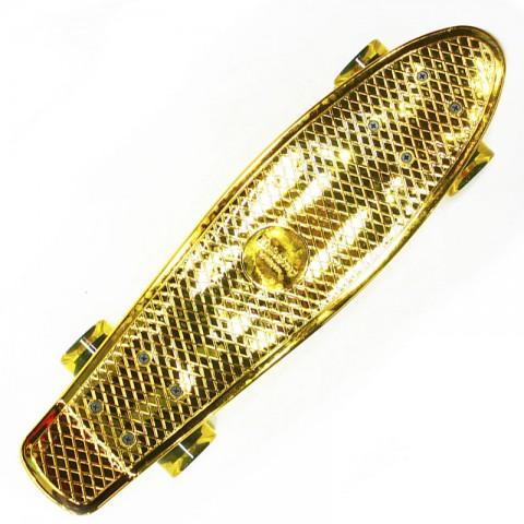Мини-круизер Hubster Cruiser 22 Metallic золотой