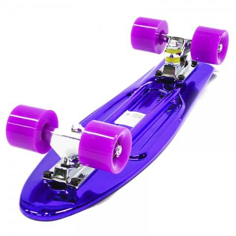 Мини-круизер Hubster Cruiser 22 Metallic фиолетовый