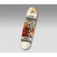 Скейтборд  Hello Wood Hellboy