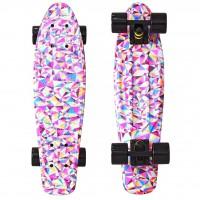 Скейтборд Y-SCOO Fishskateboard 22 с сумкой Rhombus