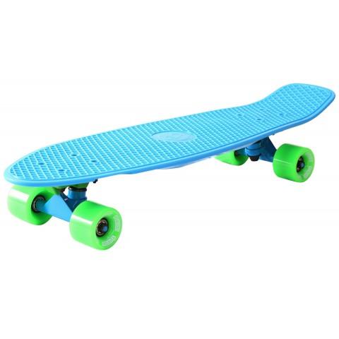 Мини-круизер Y-SCOO Big Fishskateboard 27 с сумкой blue/green