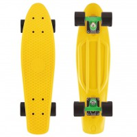 Мини-круизер Y-SCOO Big Fishskateboard 27 с сумкой yellow