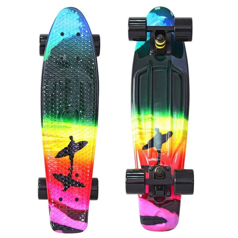 Скейтборд Y-SCOO Fishskateboard 22 с сумкой Offshore