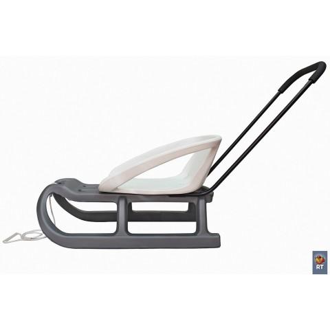 Санки детские Торнадо-1 серый/белый
