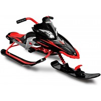 Снегокат YAMAHA Apex SNOW BIKE Titanium black/red
