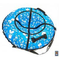 Тюбинг RT Собачки на голубом диаметр 118 см