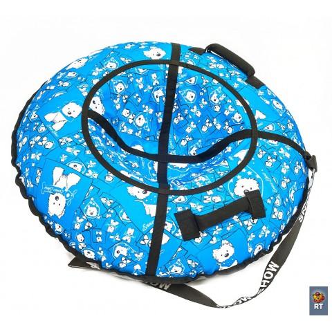 Тюбинг RT Собачки на голубом диаметр 105 см