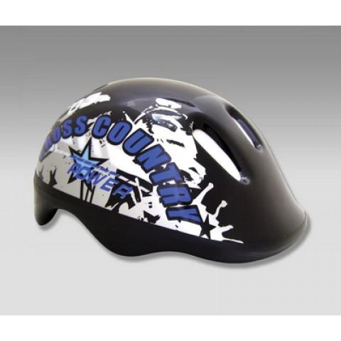Шлем для роликов детский MAXCITY BABY Cross blue