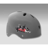 Шлем для роликов MAXCITY COOL gray