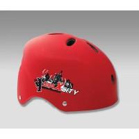 Шлем для роликов MAXCITY COOL red