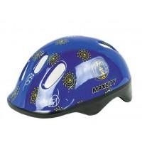 Шлем для роликов детский MAXCITY Baby Little Rabbit blue