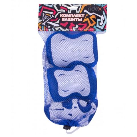 Защита для роликов детская Ridex Rocket синий