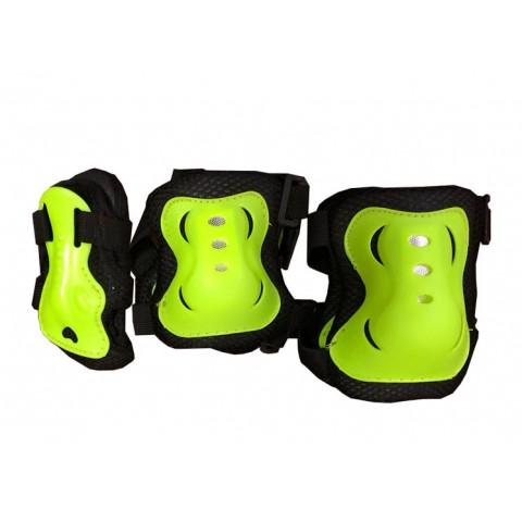 Защита для роликов детская MAXCITY Melody зеленый