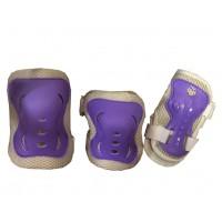 Защита для роликов детская MAXCITY Melody фиолетовый