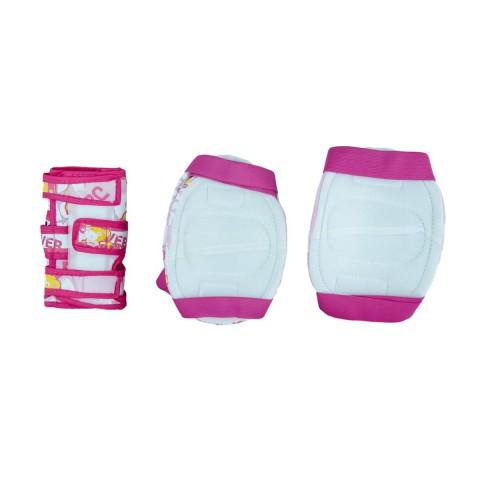 Защита для роликов детская MAXCITY TEDDY pink