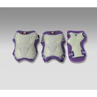 Защита для роликов СК NEON PAD violet