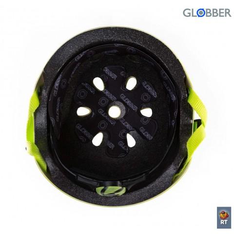 Шлем детский для самокатов Globber Junior Green XS-S