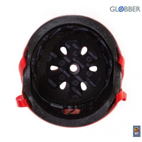 Шлем детский для самокатов Globber Junior Red XS-S