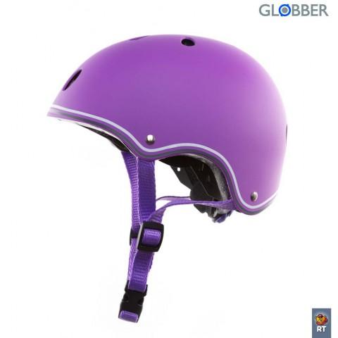 Шлем детский для самокатов Globber Junior Violet XS-S