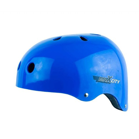Шлем для роликов MAXCITY Roller blue