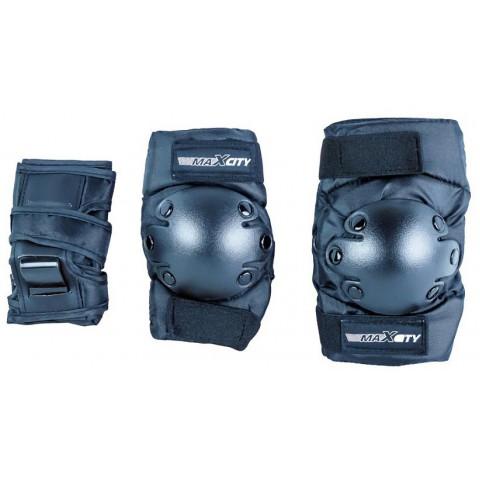 Защита для роликов MAXCITY CLASSIC BLACK