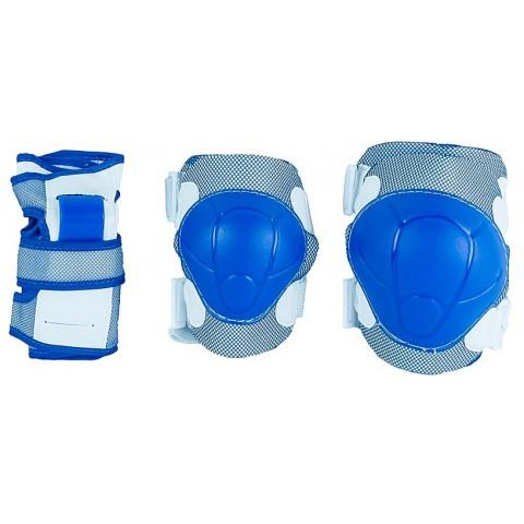 Защита для роликов детская MAXCITY COLOR blue