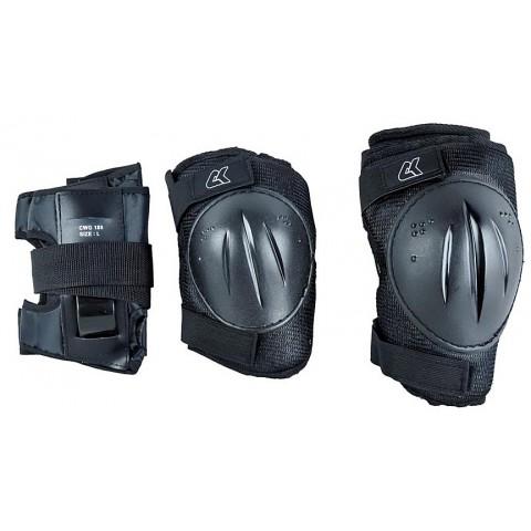Защита для роликов СК DKP black