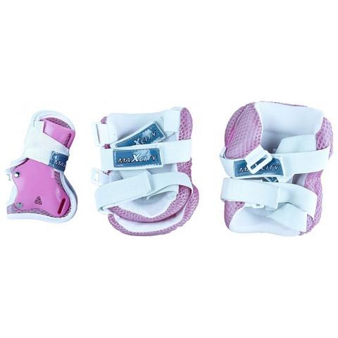 Защита для роликов детская MAXCITY Melody pink