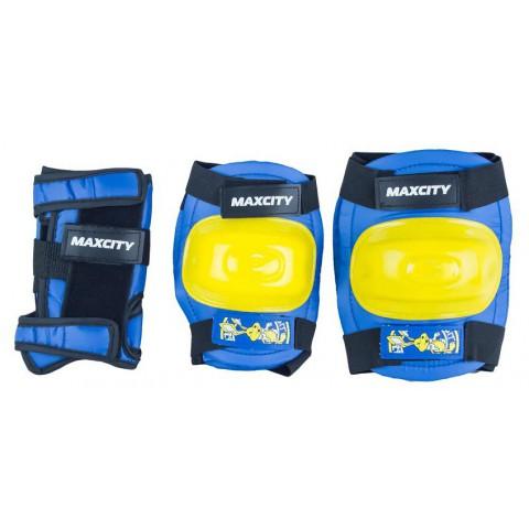 Защита для роликов детская MAXCITY LITTLE RABBIT blue